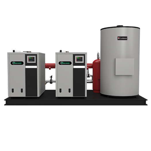 High Efficiency Commercial DHW Package Solution