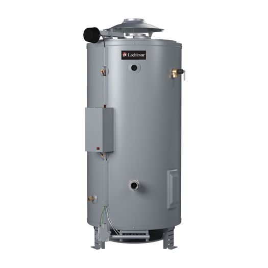 Multi-Flue Charger Commercial Gas Water Heaters